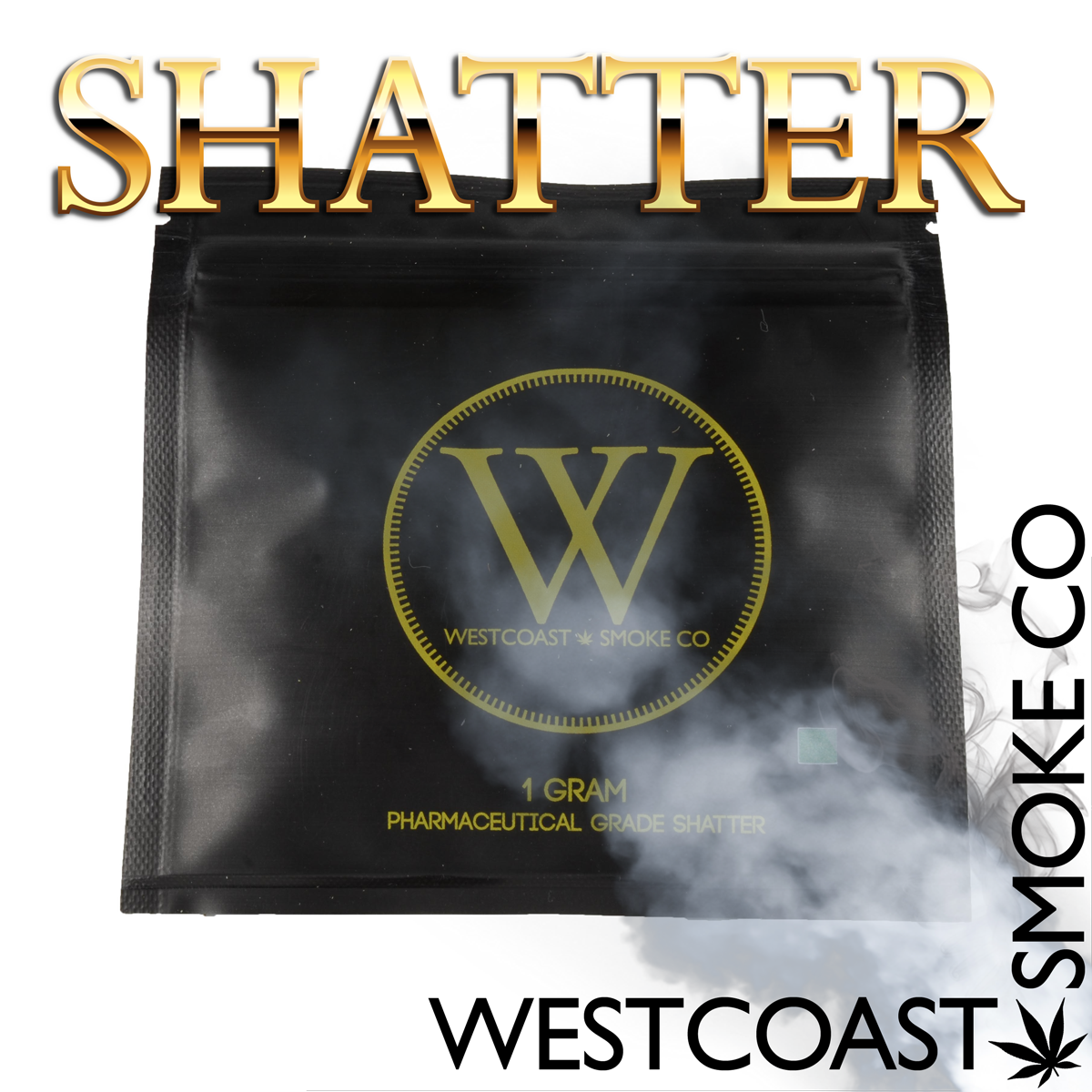 West Coast Smoke Co. Shatter by BC Bud Store - Image © 2020 BC Bud Store. All Rights Reserved.