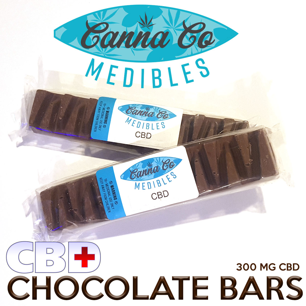 CannaCo CBD Edibles Chocolate Bars by BC Bud Store - Image © 2018 BC Bud Store. All Rights Reserved.