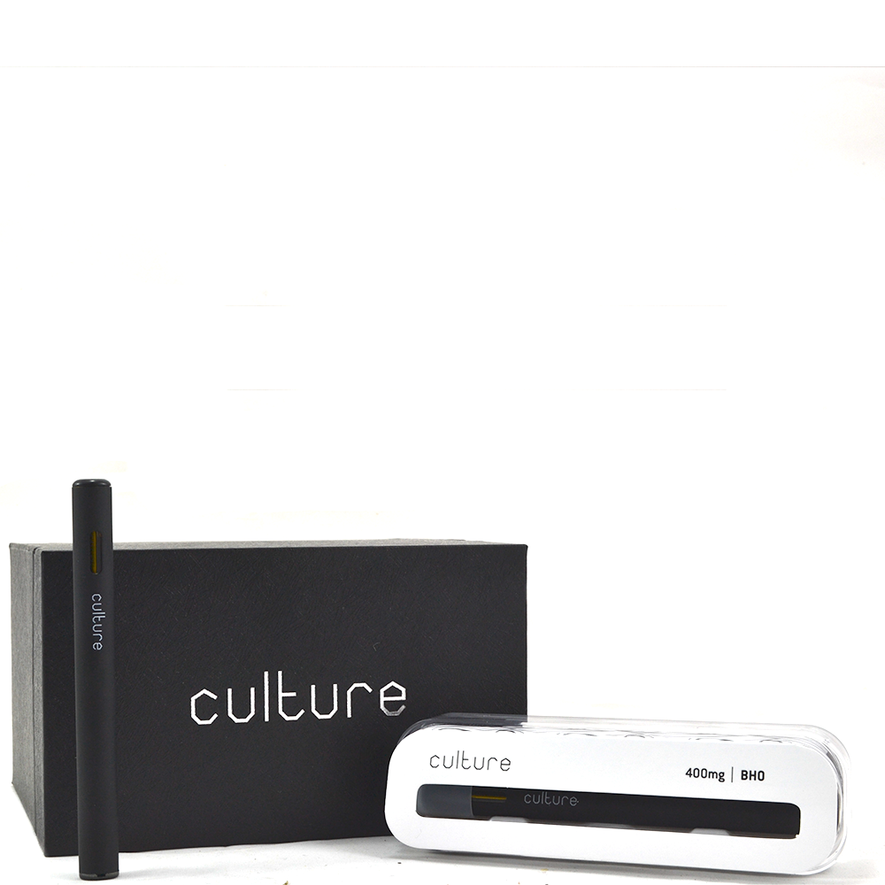 Culture Disposable BHO Shatter Pen (400mg THC) by Birch + Fog - Image © 2018 Birch + Fog. All Rights Reserved.