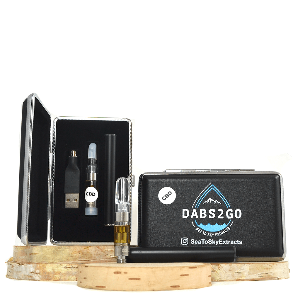 Dabs 2 Go Rechargeable CBD Vape Kit (400mg CBD) by Birch + Fog - Image © 2018 Birch + Fog. All Rights Reserved.