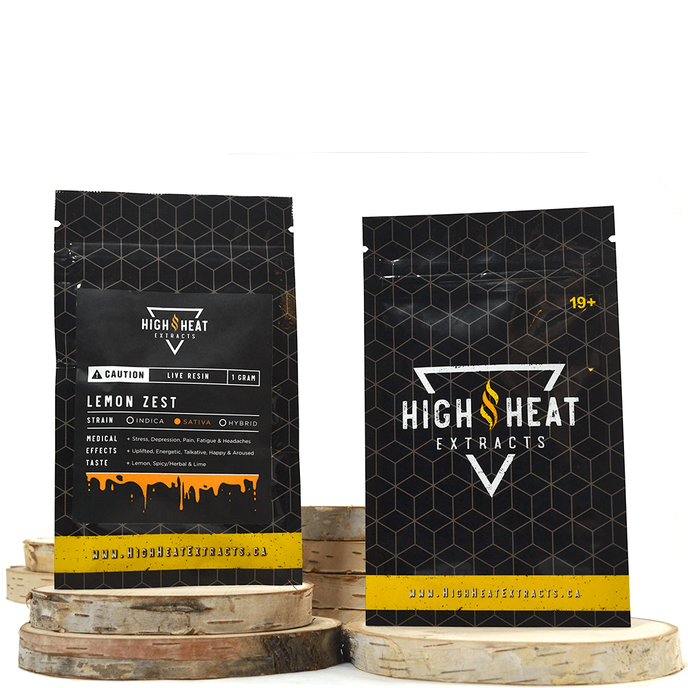 High Heat Extracts Premium Live Resin by Birch + Fog - Image © 2018 Birch + Fog. All Rights Reserved.