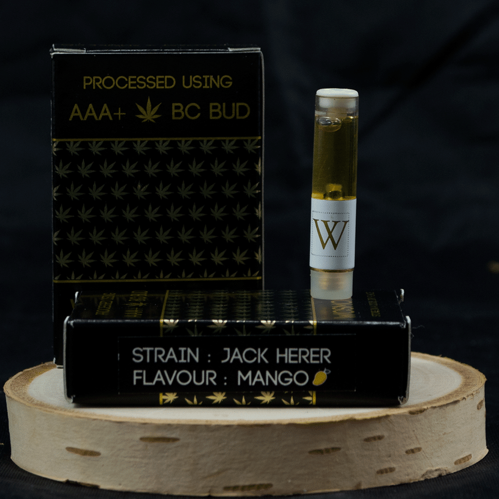 Westcoast Smoke Executive Cartridge – Jack Herer Mango Sativa by Birch + Fog - Image © 2018 Birch + Fog. All Rights Reserved.