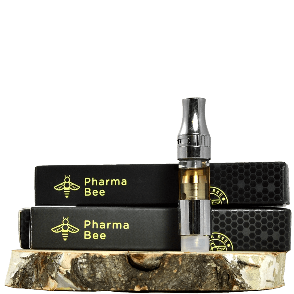 Pharmabee Distillate Cartridges (400mg THC) by Birch + Fog - Image © 2018 Birch + Fog. All Rights Reserved.