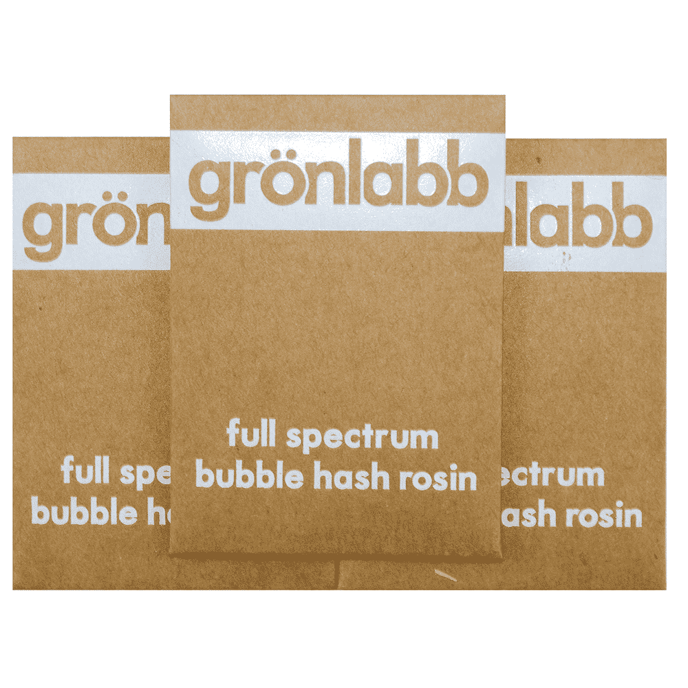 Gronlabb Full Spectrum Bubble Hash Rosin by Birch + Fog - Image © 2018 Birch + Fog. All Rights Reserved.