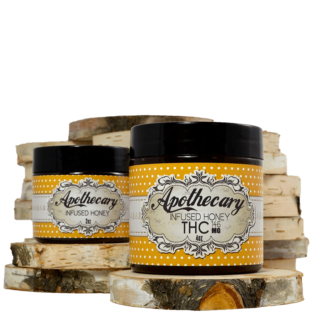 Apothecary Labs Infused Honey (86mg-292mg THC) by Birch + Fog - Image © 2018 Birch + Fog. All Rights Reserved.