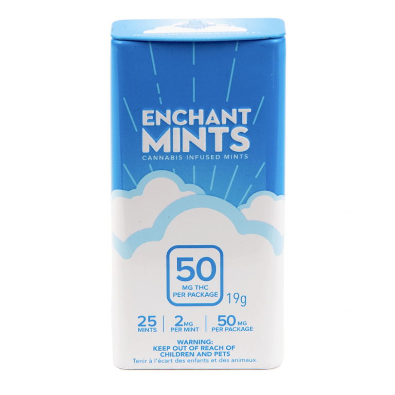 Baked Edibles Enchant Mints by Birch + Fog - Image © 2018 Birch + Fog. All Rights Reserved.