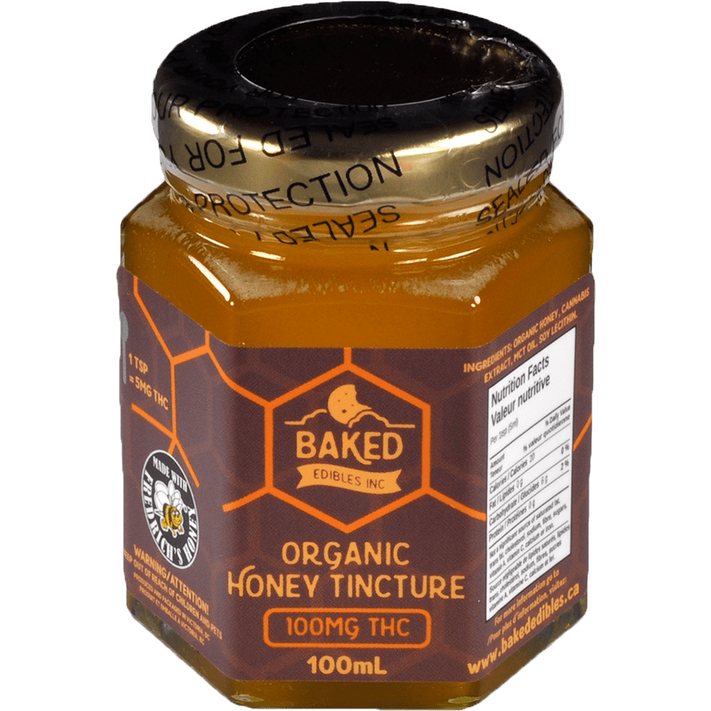 Baked Edibles Organic Honey Tincture by Birch + Fog - Image © 2018 Birch + Fog. All Rights Reserved.