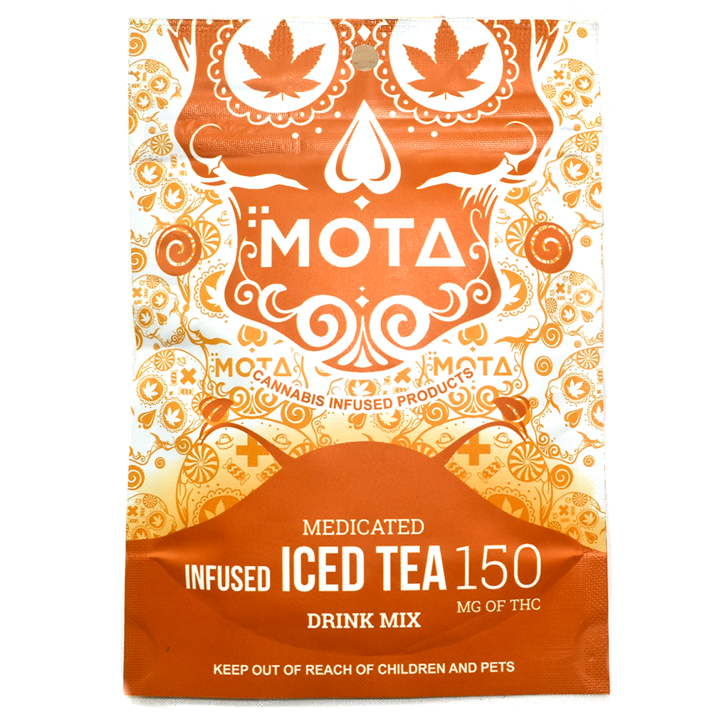 MOTA Infused Ice Tea Drink Mix (150mg THC) by Birch + Fog - Image © 2018 Birch + Fog. All Rights Reserved.