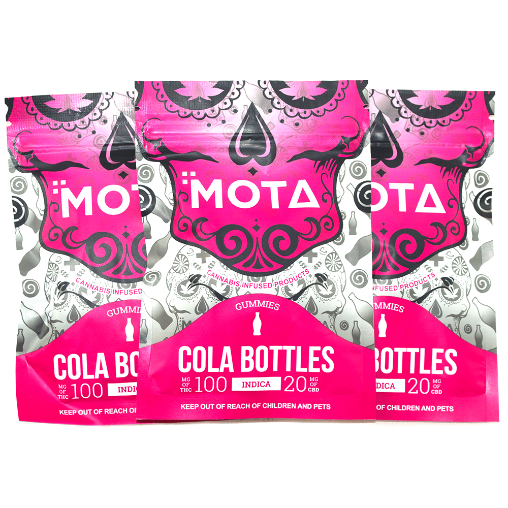 MOTA Indica Cola Bottle Gummies by Birch + Fog - Image © 2018 Birch + Fog. All Rights Reserved.
