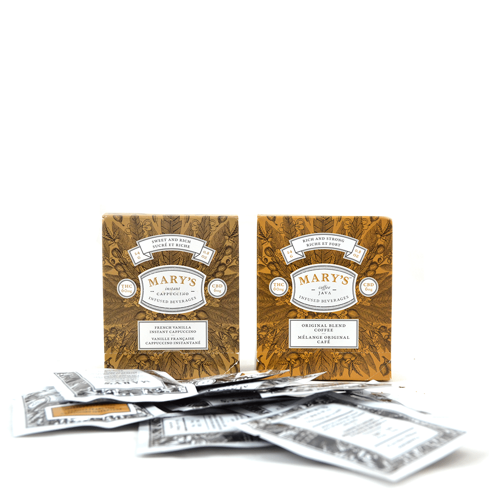 Marys Java Original Infused Beverages (60mg THC/6mg CBD) by Birch + Fog - Image © 2018 Birch + Fog. All Rights Reserved.
