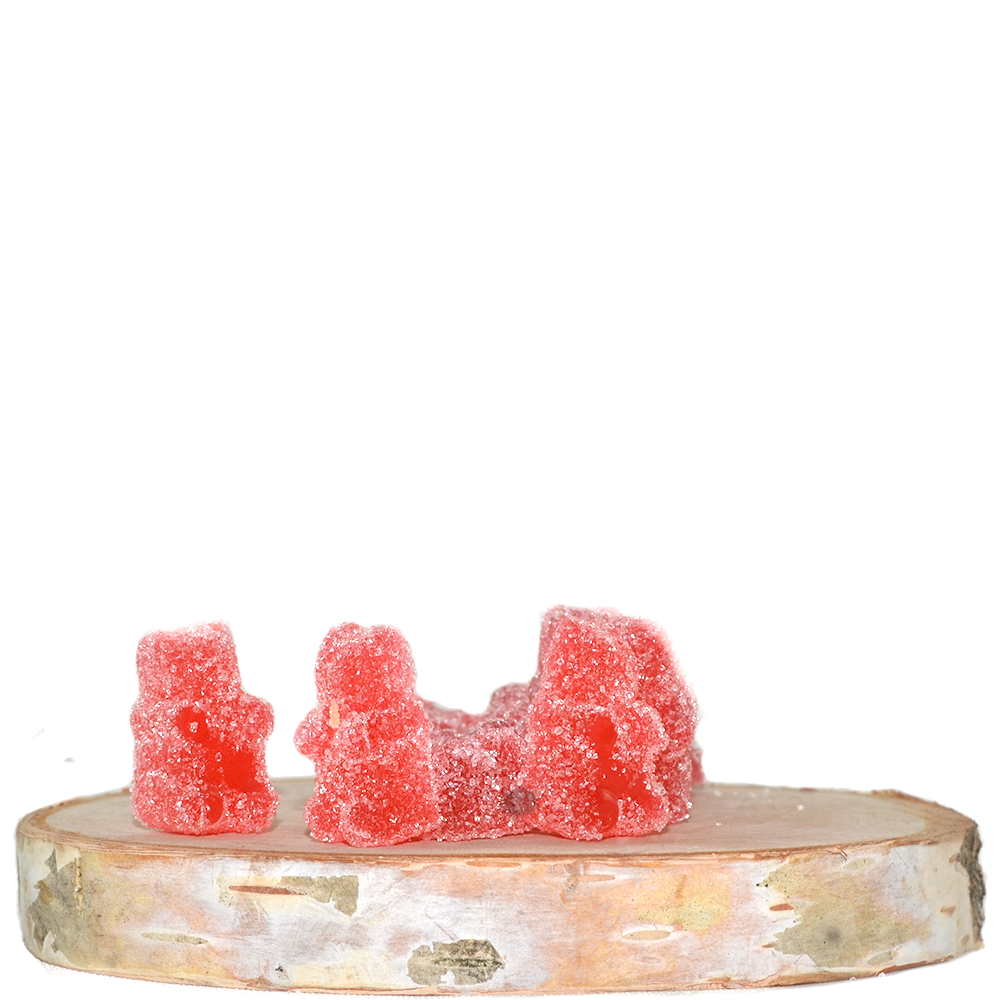 Squish Extracts CBD Gummy Bears (100mg CBD) by Birch + Fog - Image © 2018 Birch + Fog. All Rights Reserved.