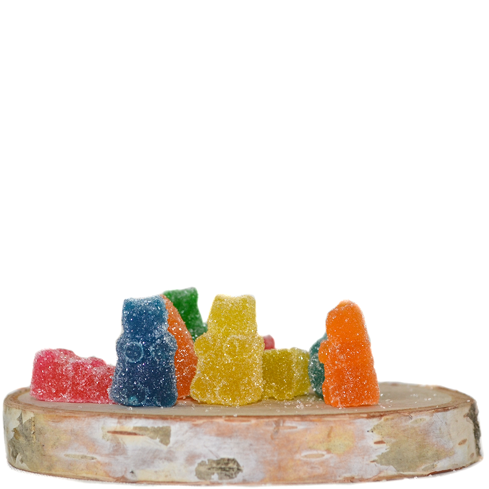 Squish Extracts Gummy Bears (100mg THC) by Birch + Fog - Image © 2018 Birch + Fog. All Rights Reserved.