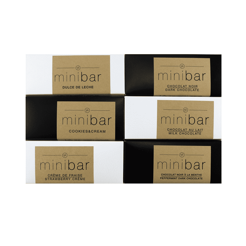 EP Infusions Mini Bars (6 Unique Flavours) (100mg THC) by Birch + Fog - Image © 2018 Birch + Fog. All Rights Reserved.