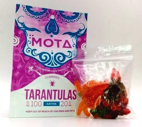 MOTA Tarantula Gummies Sativa by Bud Zone - Image © 2020 Bud Zone. All Rights Reserved.