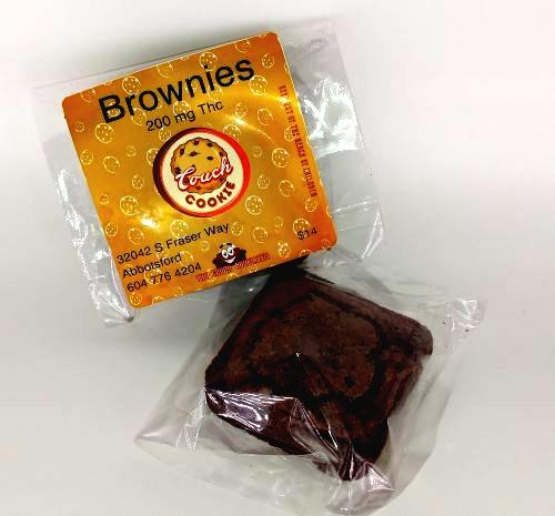 The Couch Brownies 200mg THC by Bud Zone - Image © 2020 Bud Zone. All Rights Reserved.
