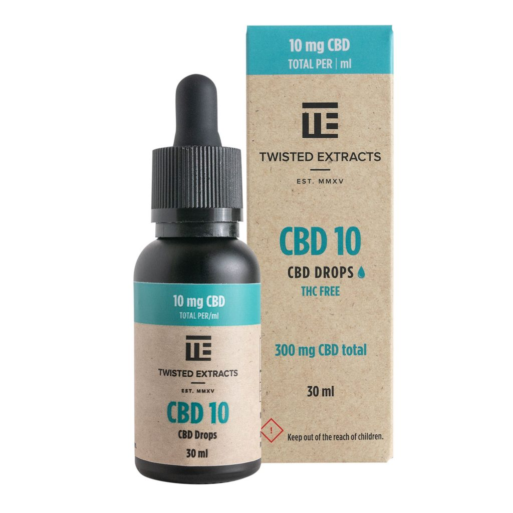 Twisted Extracts CBD Oil Drops (300mg CBD) by Buy My Bud - Image © 2021 Buy My Bud. All Rights Reserved.