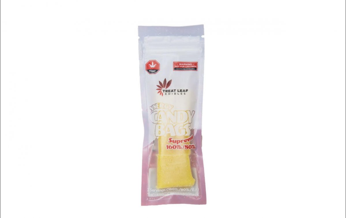Candy Bags Supreme Synergy (160mg THC/ 80mg CBD) by Treat Leaf Edibles by Canada Weed Dispensary - Image © 2018 Canada Weed Dispensary. All Rights Reserved.