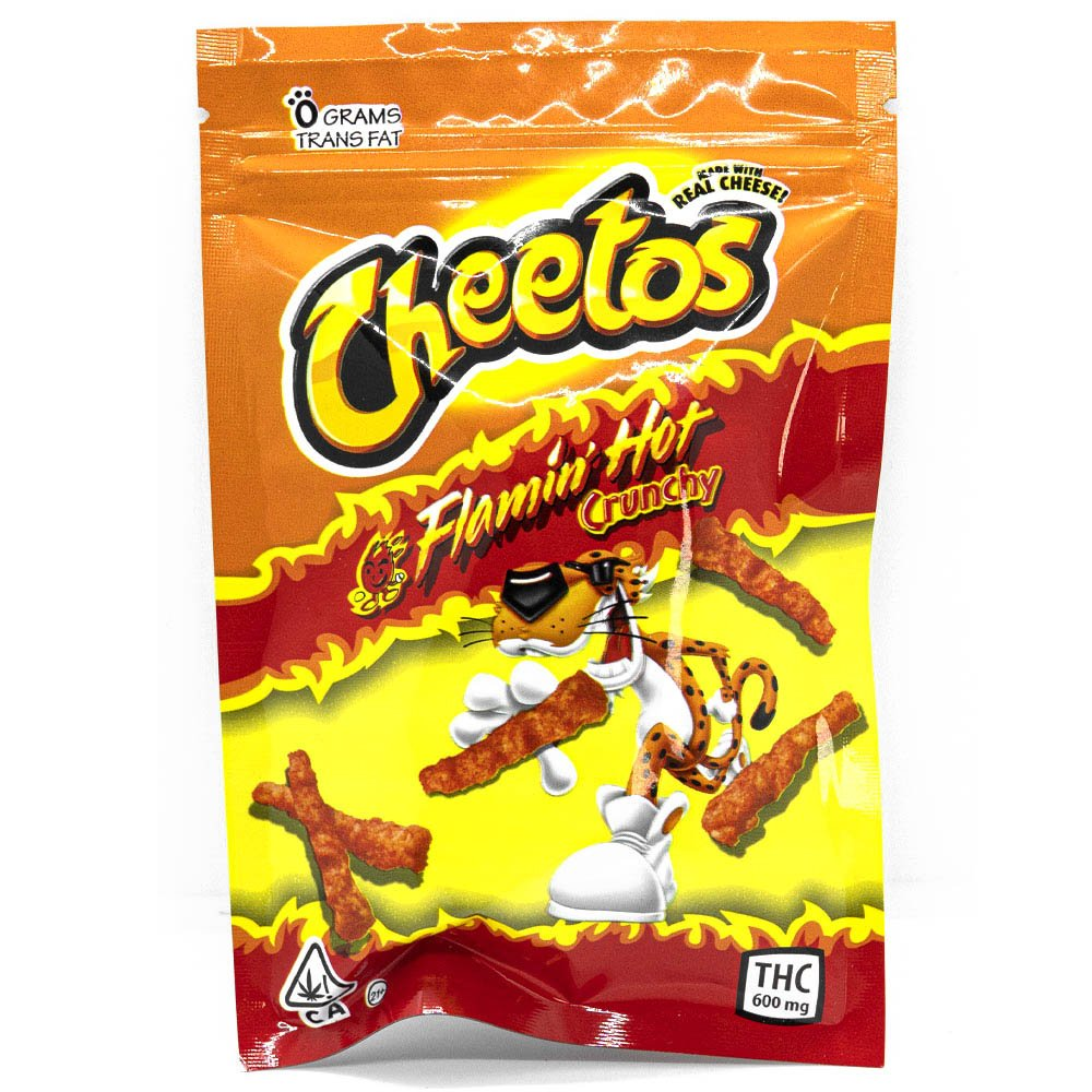 Cheetos Puffs 600mg THC by Crystal Cloud 9 - Image © 2021 Crystal Cloud 9. All Rights Reserved.