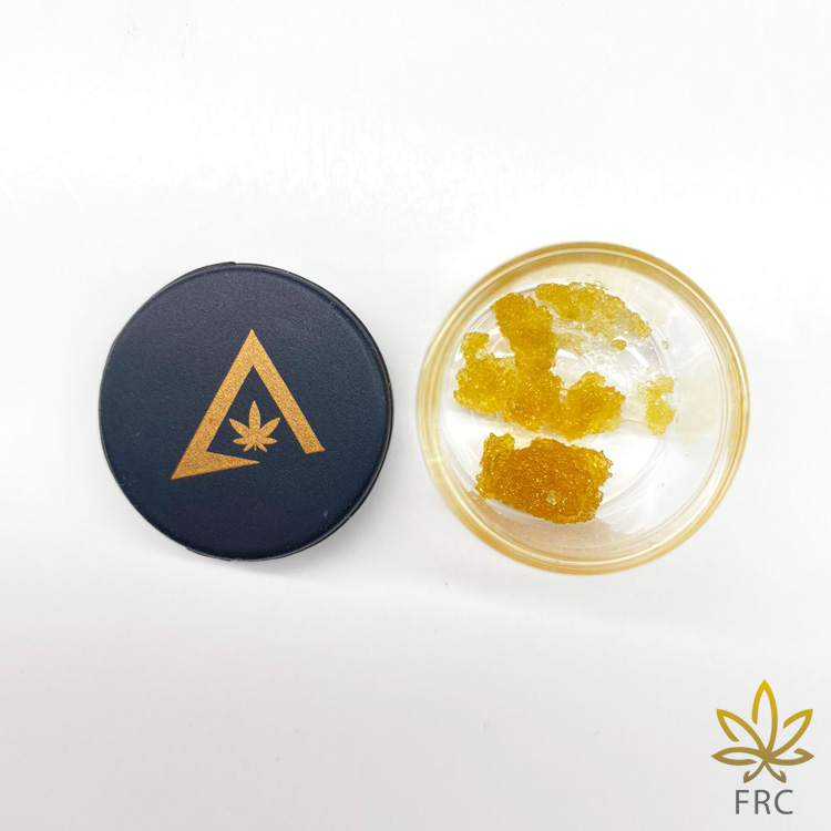 True North Weed Co. Blackberry OG Live Resin (1 g) by Freshly Rated Cannabis - Image © 2020 Freshly Rated Cannabis. All Rights Reserved.
