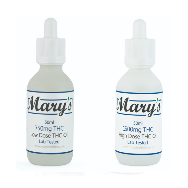 Marys THC Tinctures by Get Kush - Image © 2020 Get Kush. All Rights Reserved.