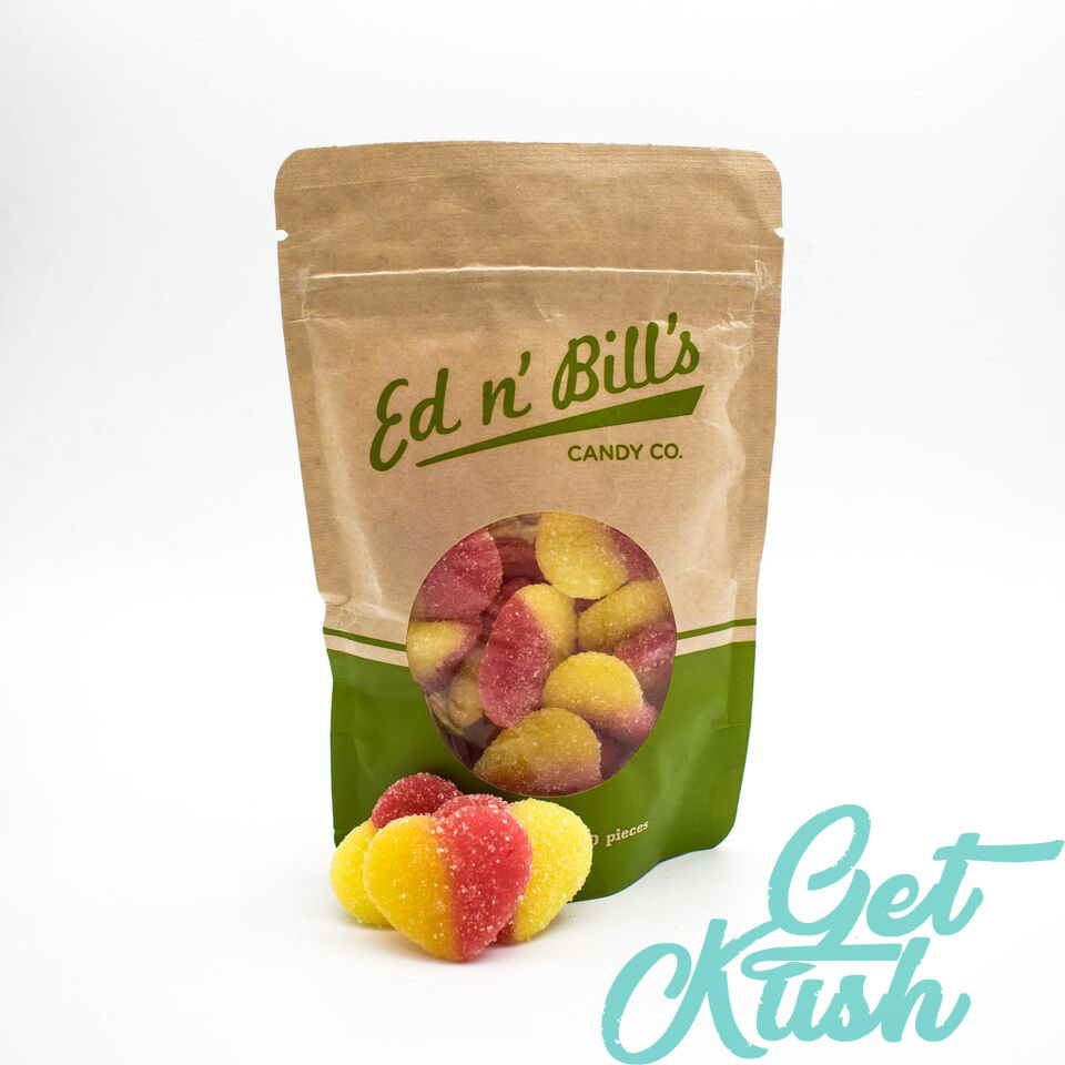 Ed & Bills Peach Hearts by Get Kush - Image © 2018 Get Kush. All Rights Reserved.