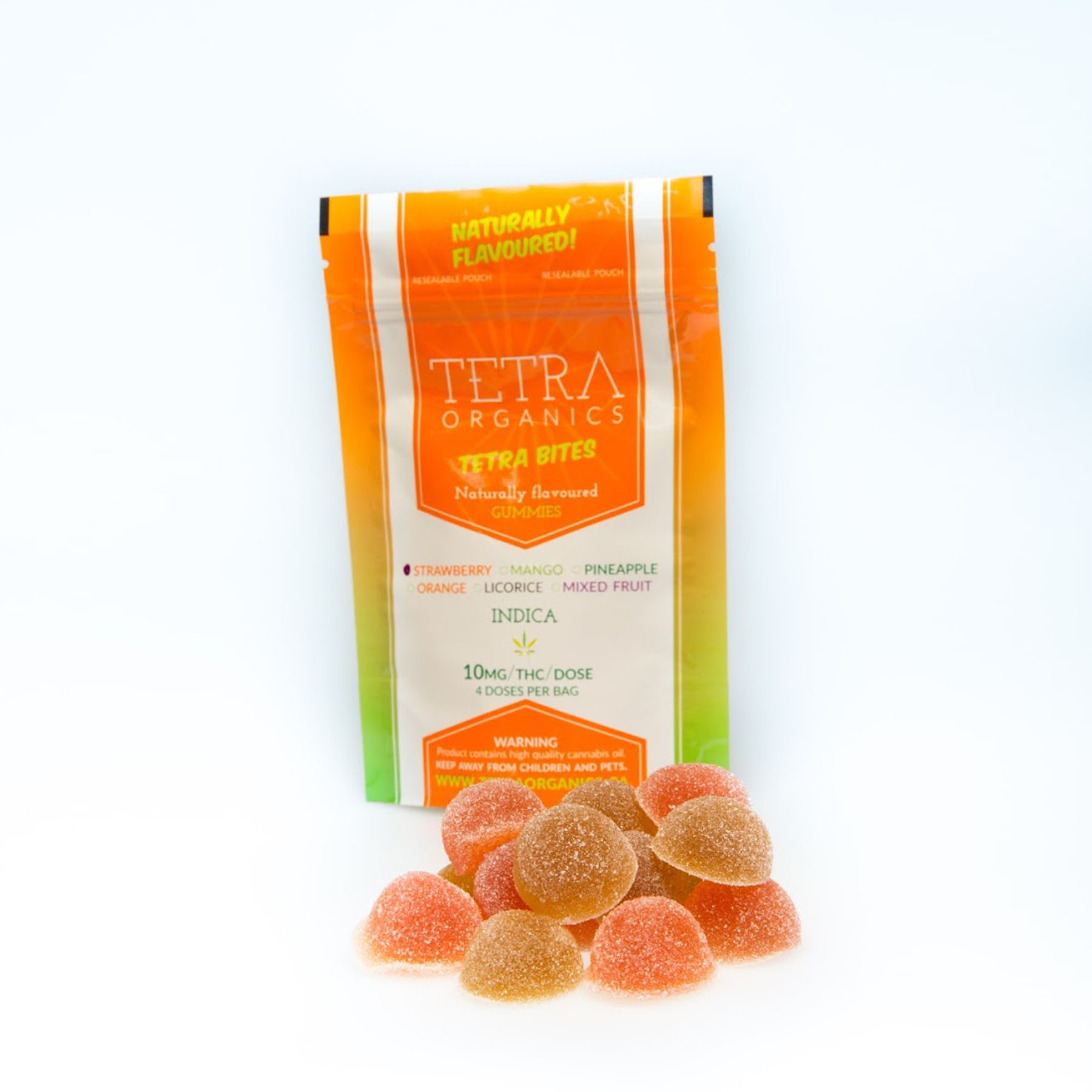 Tetra Bites Gummy Candies by Get Kush - Image © 2018 Get Kush. All Rights Reserved.