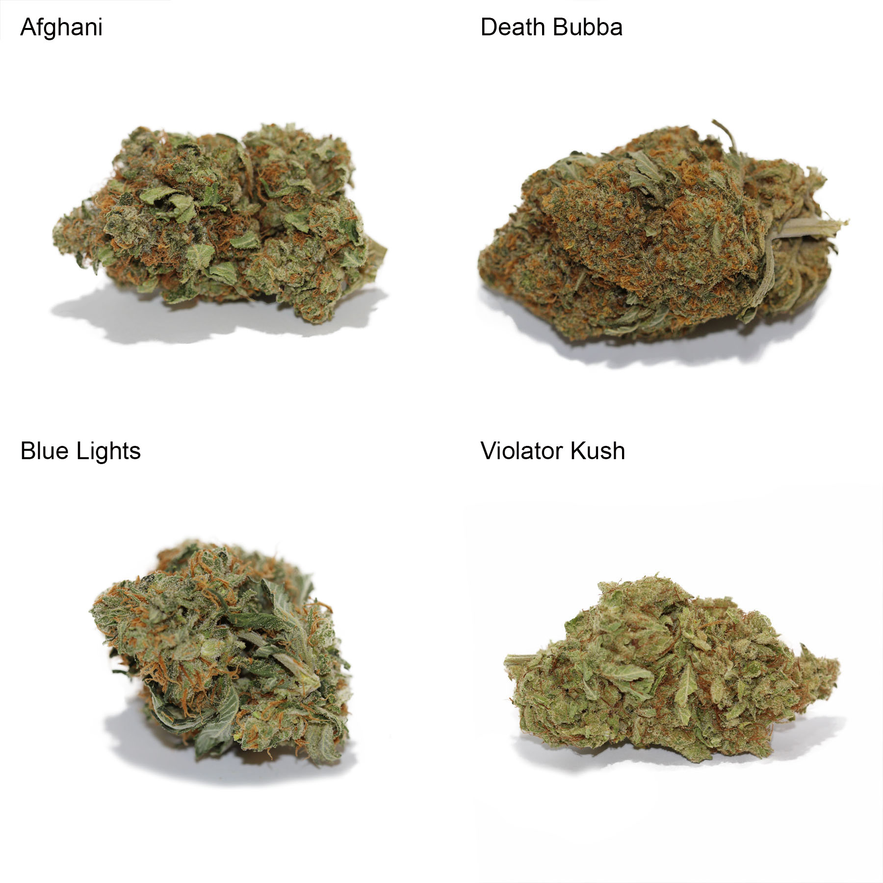 Indica Variety Pack by Get Kush - Image © 2018 Get Kush. All Rights Reserved.