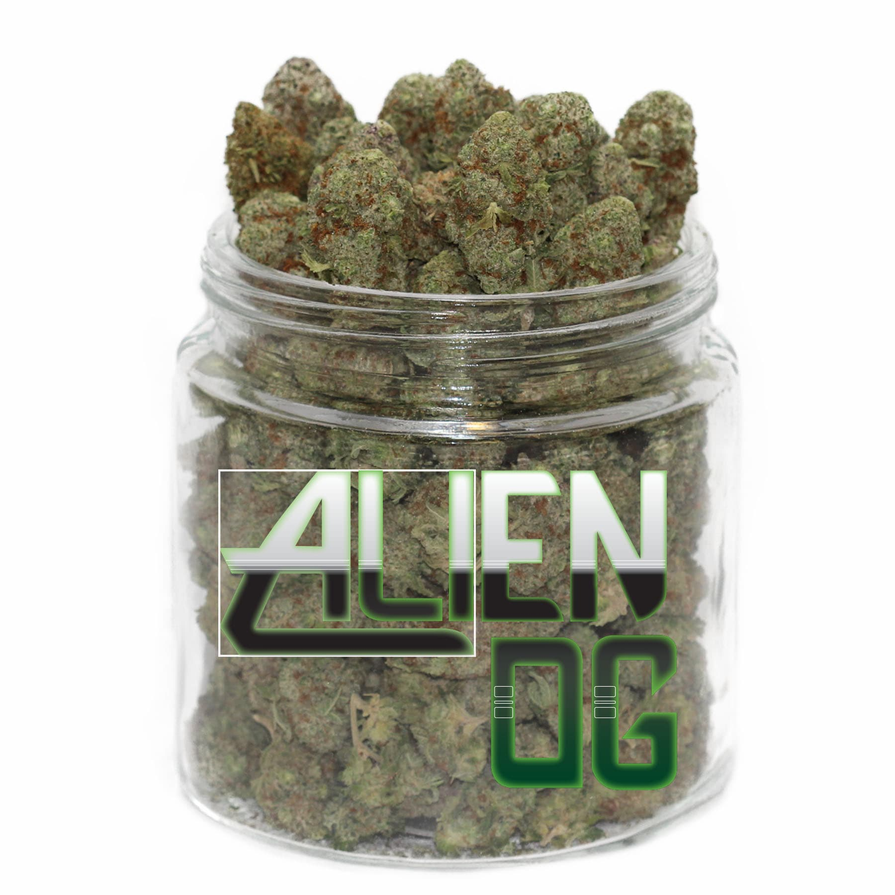 Alien OG (AAAA) by Get Kush - Image © 2018 Get Kush. All Rights Reserved.