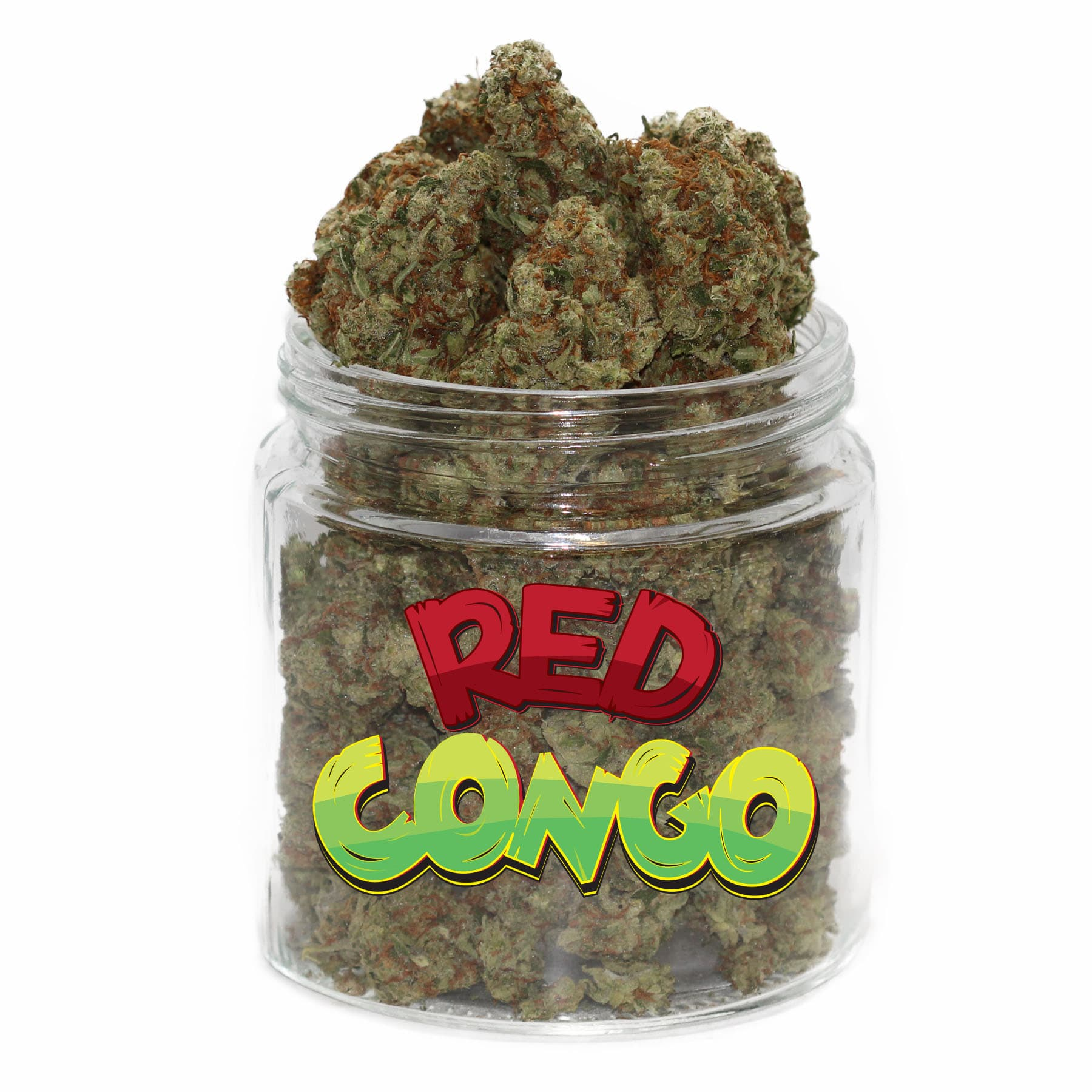 Red Congo (AAAA) by Get Kush - Image © 2018 Get Kush. All Rights Reserved.