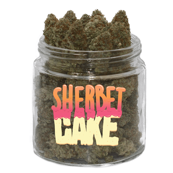 Sherbet Cake by Get Kush - Image © 2018 Get Kush. All Rights Reserved.