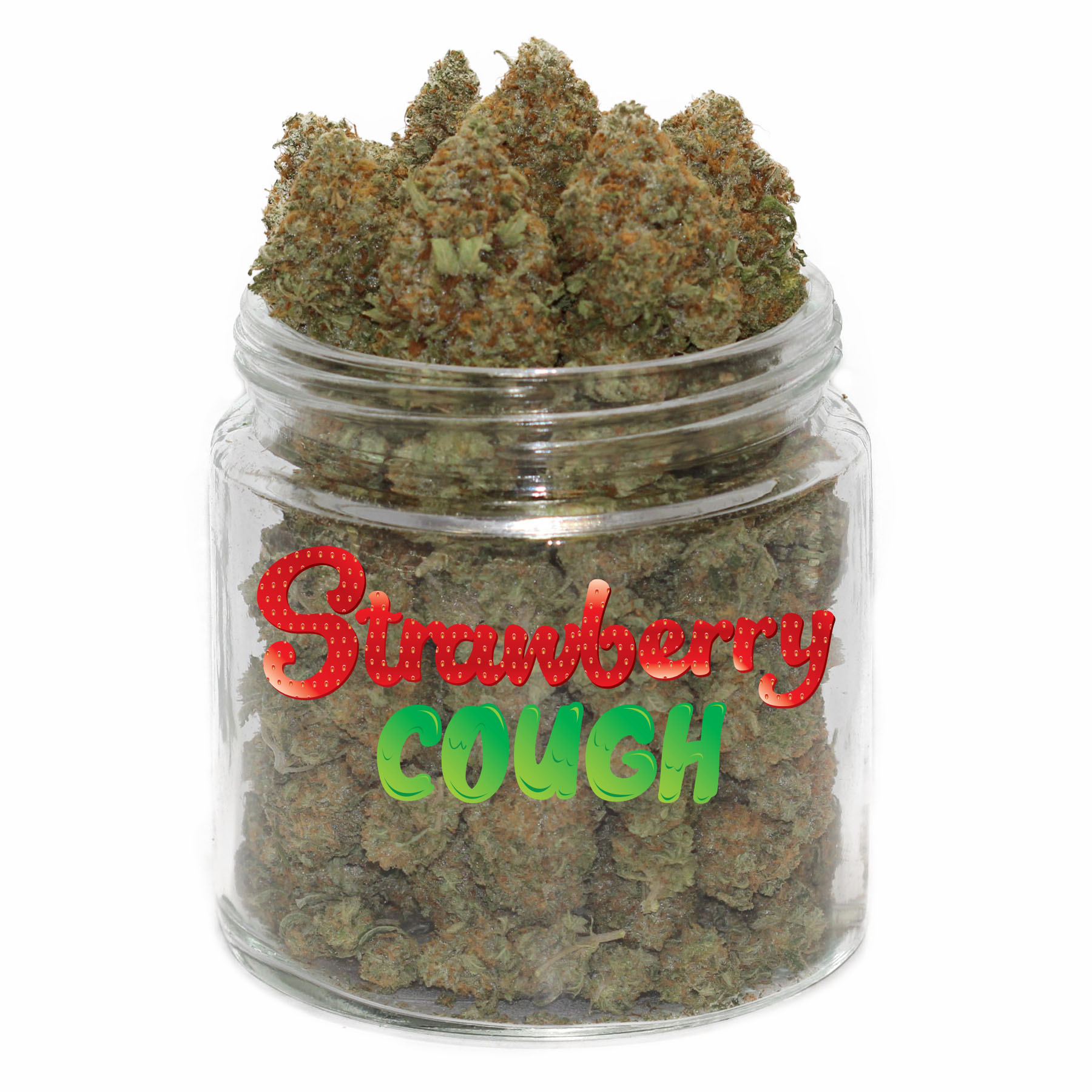 Strawberry Cough by Get Kush - Image © 2018 Get Kush. All Rights Reserved.
