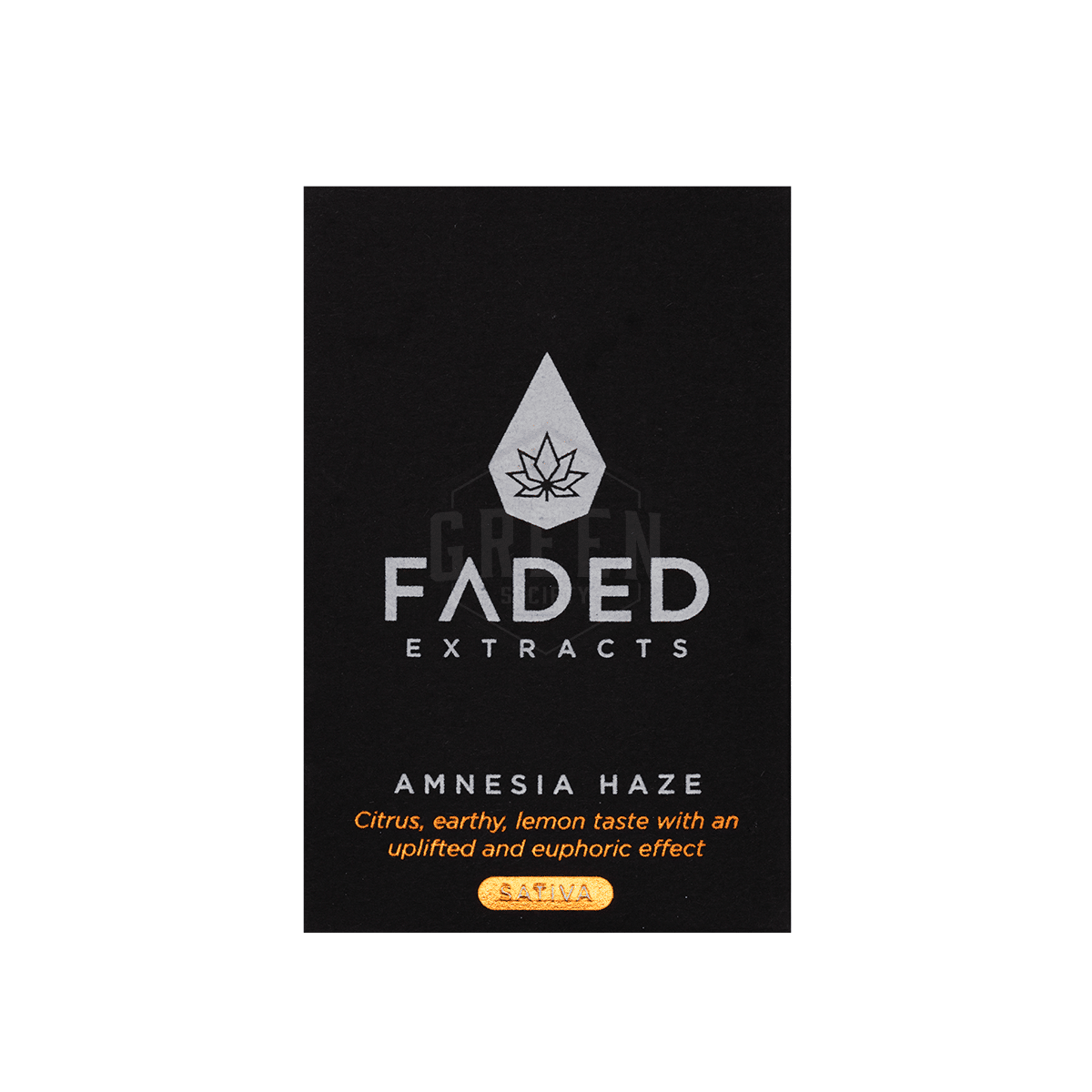 Amnesia Haze Shatter by Faded Extracts by Green Society - Image © 2018 Green Society. All Rights Reserved.
