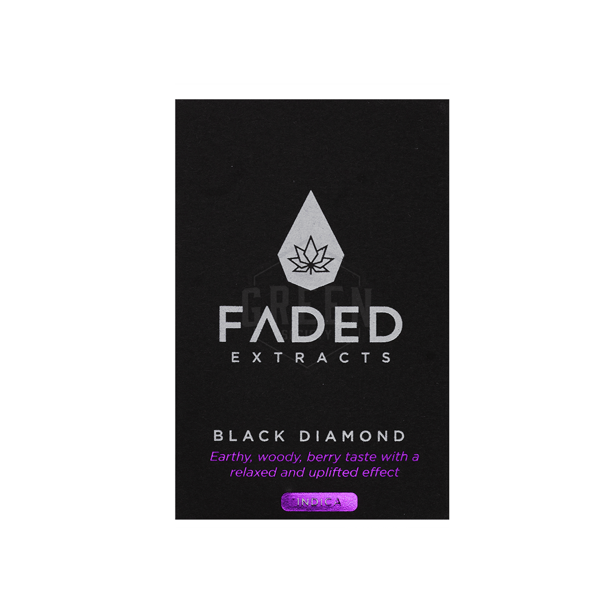 Black Diamond Shatter by Faded Extracts by Green Society - Image © 2018 Green Society. All Rights Reserved.