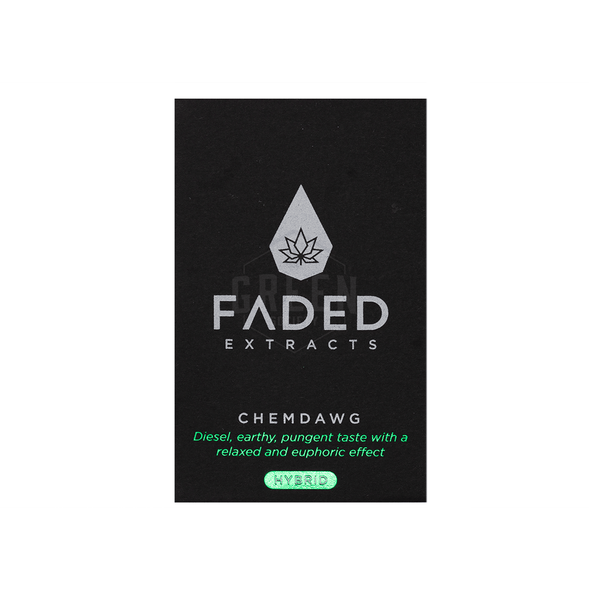 Chemdawg Shatter by Faded Extracts by Green Society - Image © 2018 Green Society. All Rights Reserved.