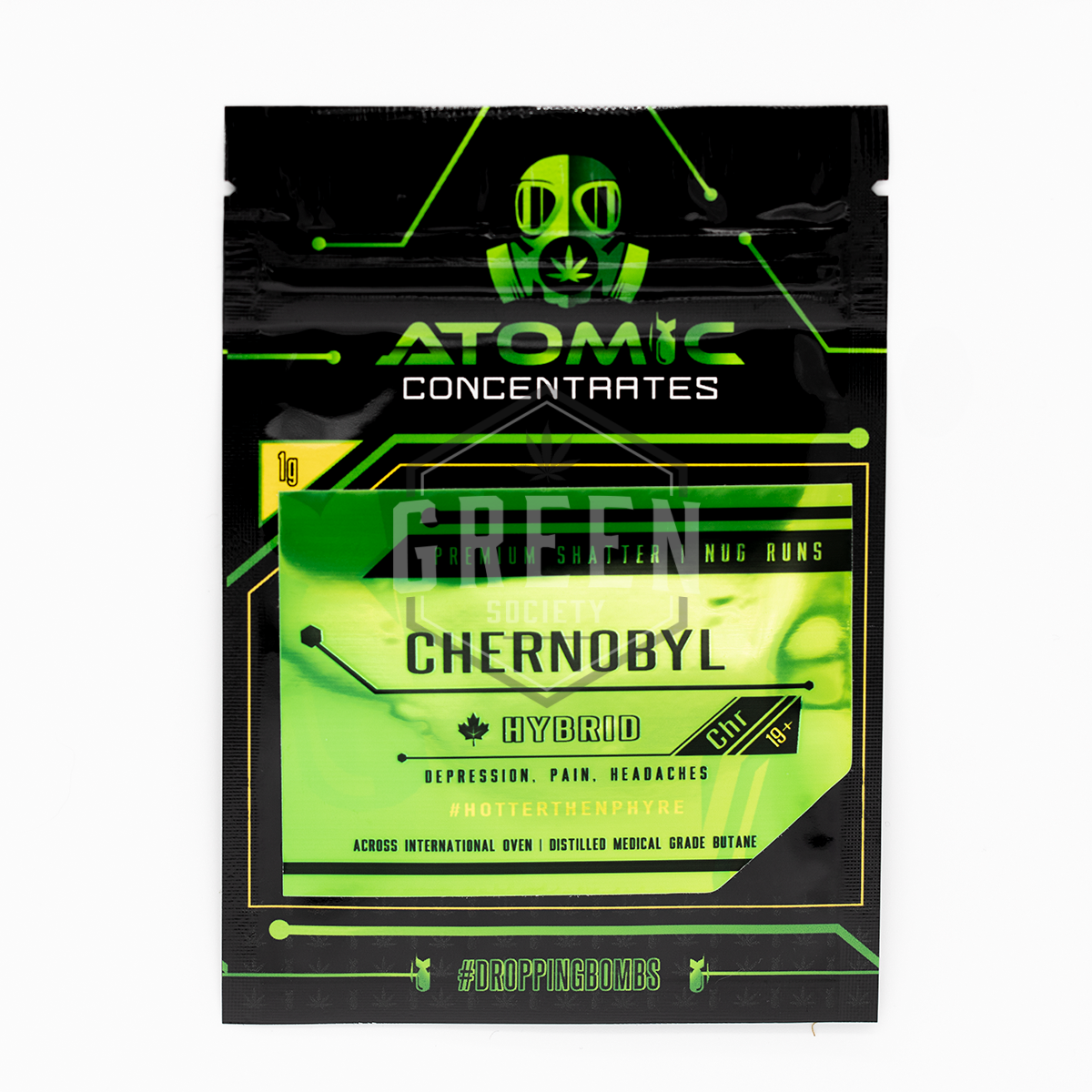 Chernobyl Shatter by Atomic Concentrates by Green Society - Image © 2018 Green Society. All Rights Reserved.