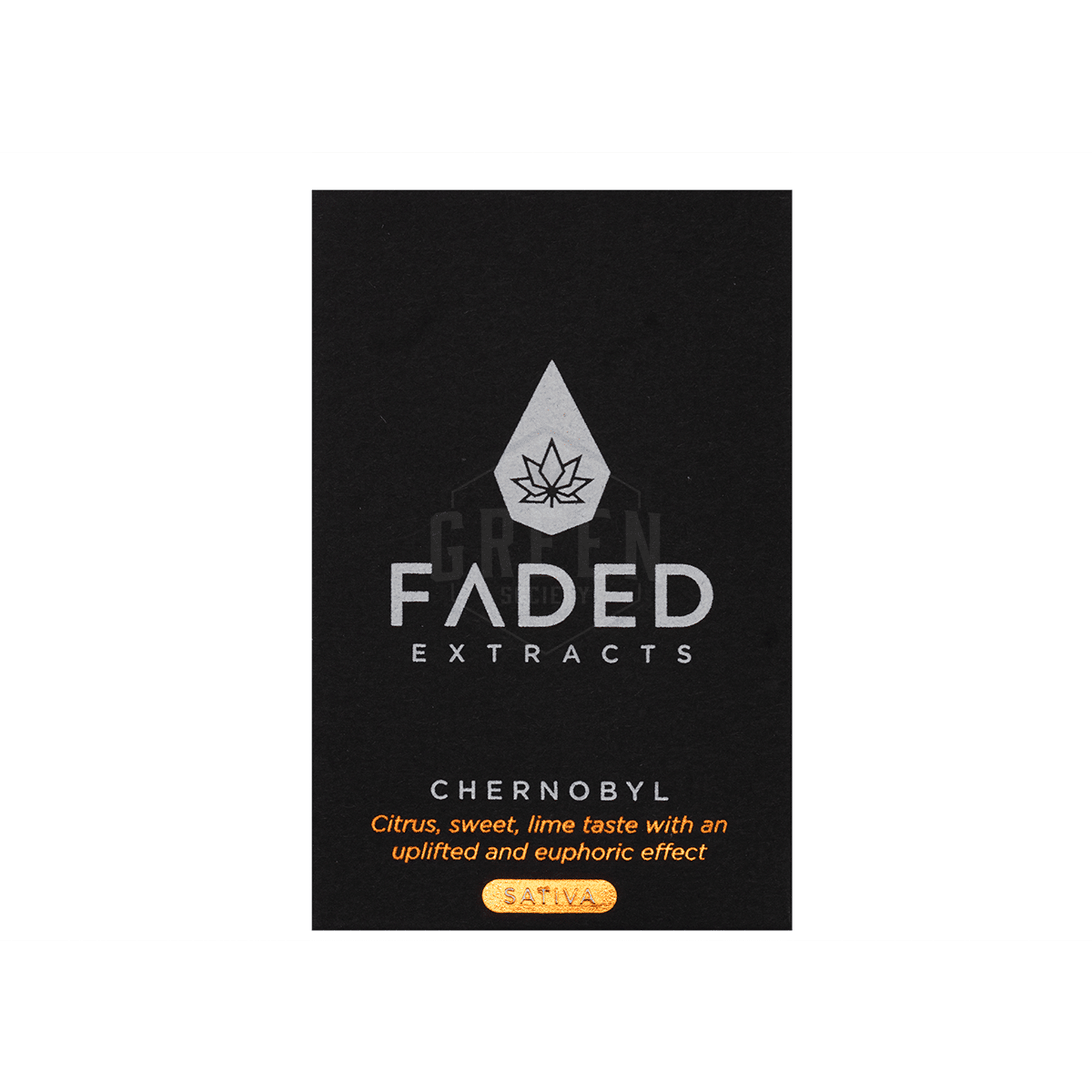Chernobyl Shatter by Faded Extracts by Green Society - Image © 2018 Green Society. All Rights Reserved.
