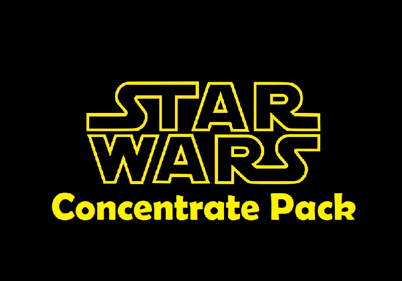 Star Wars Concentrate Pack by Green Society - Image © 2018 Green Society. All Rights Reserved.