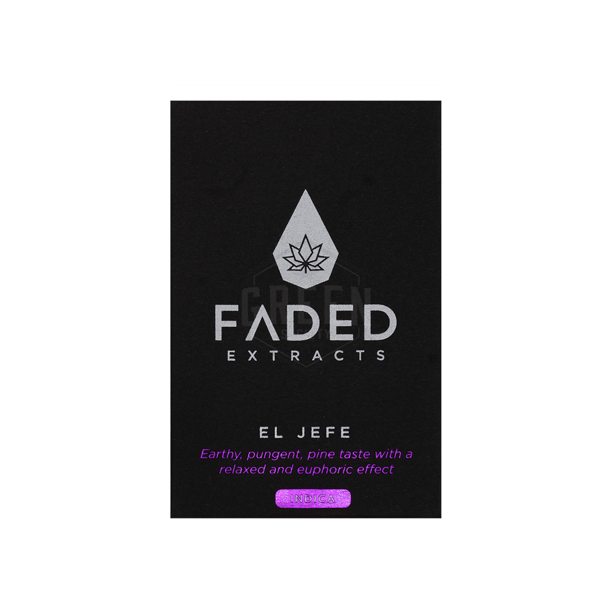 El Jefe Shatter by Faded Extracts by Green Society - Image © 2018 Green Society. All Rights Reserved.