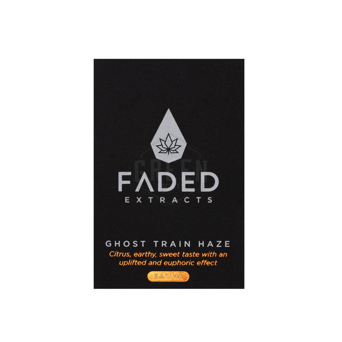 Ghost Train Haze Shatter by Faded Extracts by Green Society - Image © 2018 Green Society. All Rights Reserved.