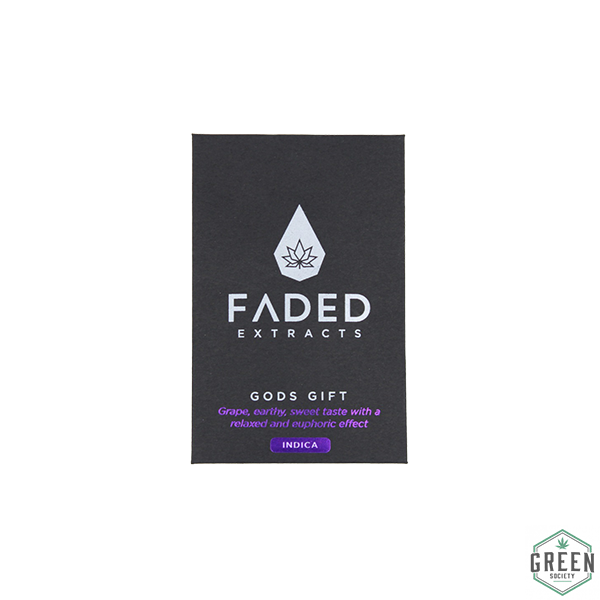 Gods Gift Shatter by Faded Extracts by Green Society - Image © 2018 Green Society. All Rights Reserved.