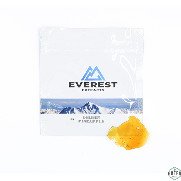 Golden Pineapple Shatter by Everest Extracts by Green Society - Image © 2018 Green Society. All Rights Reserved.