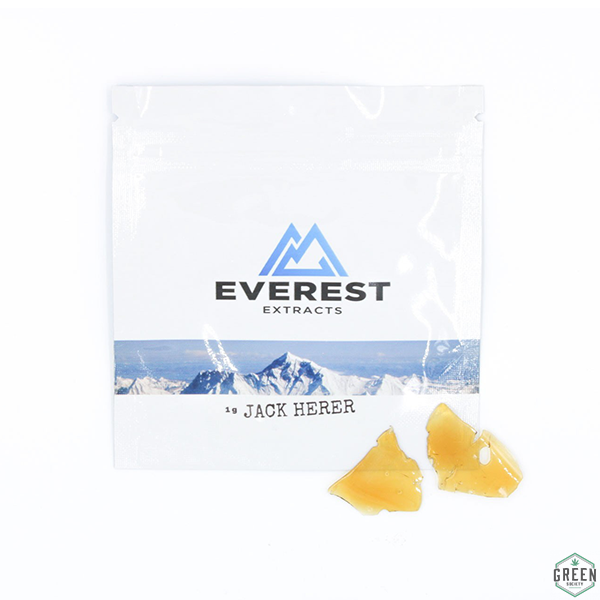 Jack Herer Shatter by Everest Extracts by Green Society - Image © 2018 Green Society. All Rights Reserved.
