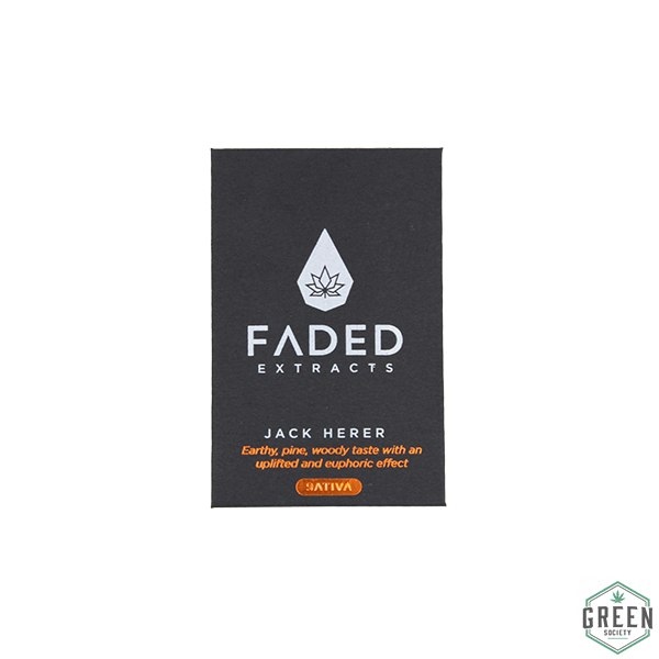 Jack Herer Shatter by Faded Extracts by Green Society - Image © 2018 Green Society. All Rights Reserved.