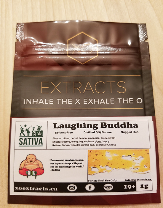 Laughing Buddha XO Extracts Sativa by Green Society - Image © 2018 Green Society. All Rights Reserved.