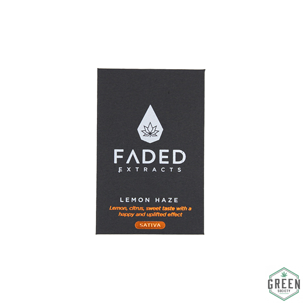 Lemon Haze Shatter by Faded Extracts by Green Society - Image © 2018 Green Society. All Rights Reserved.