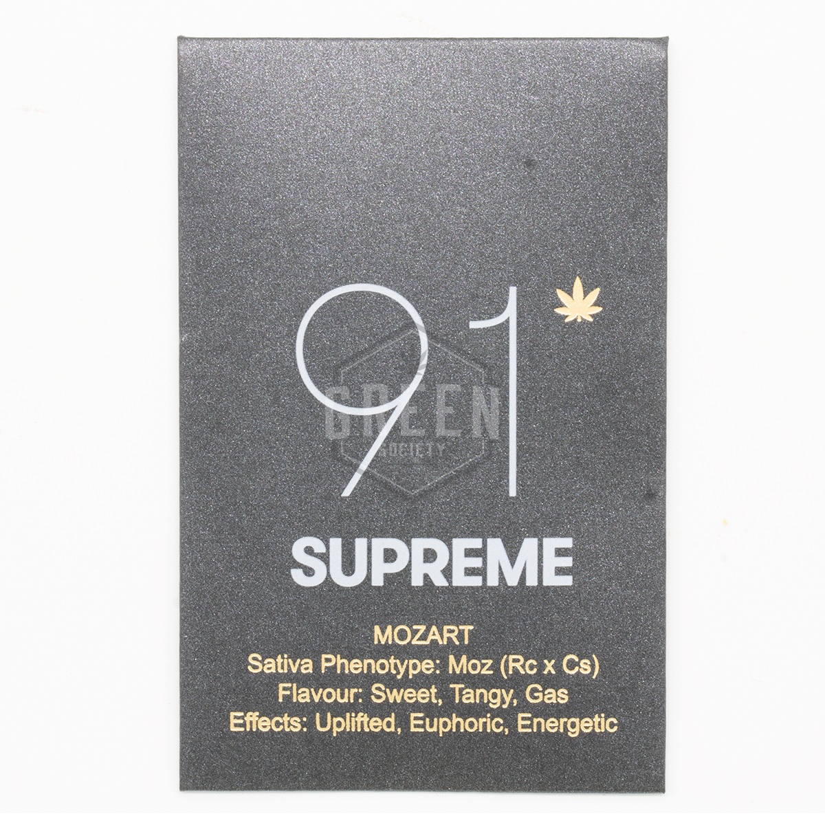 Mozart Shatter by 91 Supreme by Green Society - Image © 2018 Green Society. All Rights Reserved.
