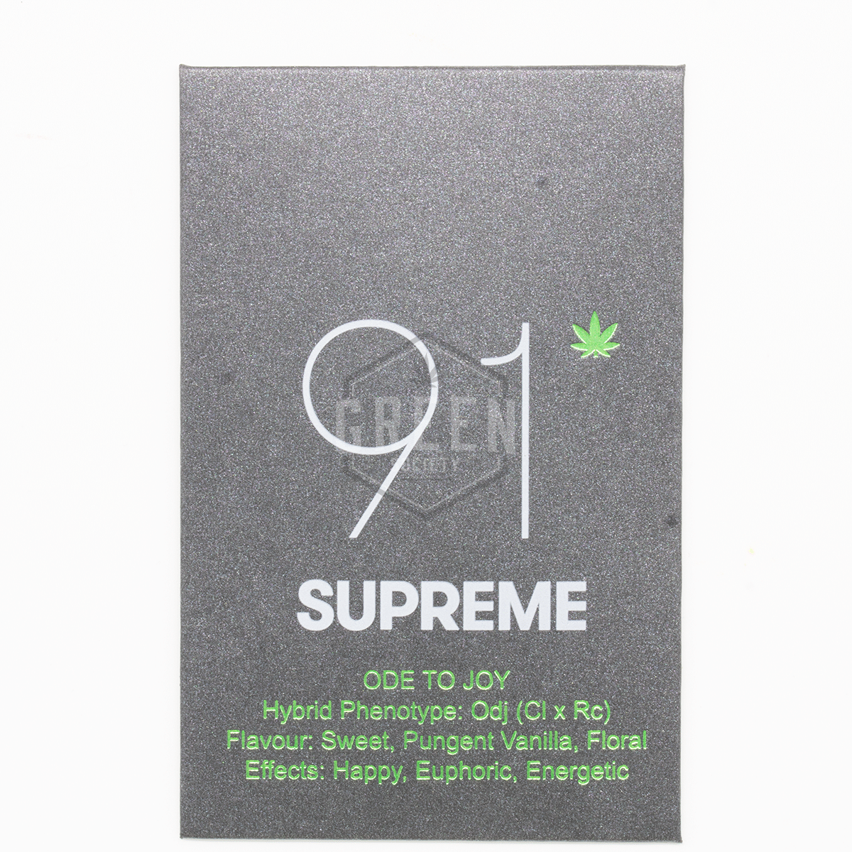 Ode to Joy Shatter by 91 Supreme by Green Society - Image © 2018 Green Society. All Rights Reserved.