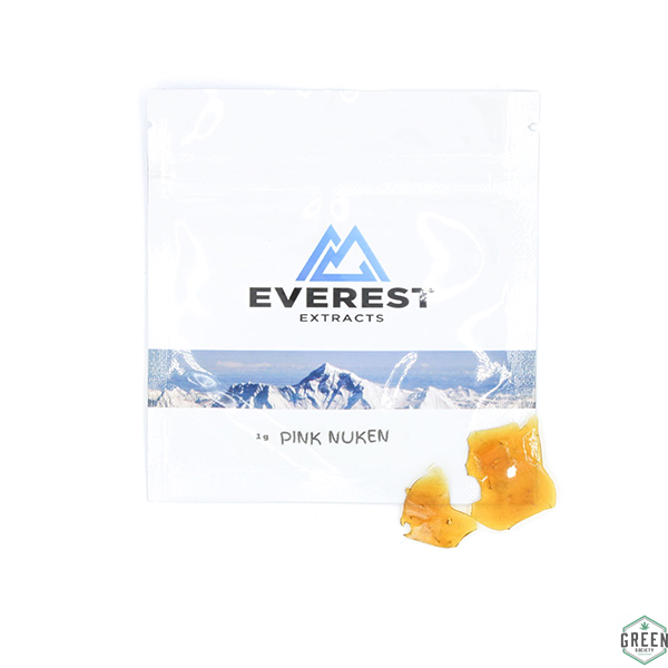 Pink Nuken Shatter by Everest Extracts by Green Society - Image © 2018 Green Society. All Rights Reserved.