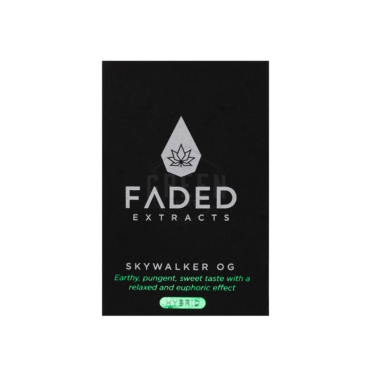 Skywalker OG Shatter by Faded Extracts by Green Society - Image © 2018 Green Society. All Rights Reserved.