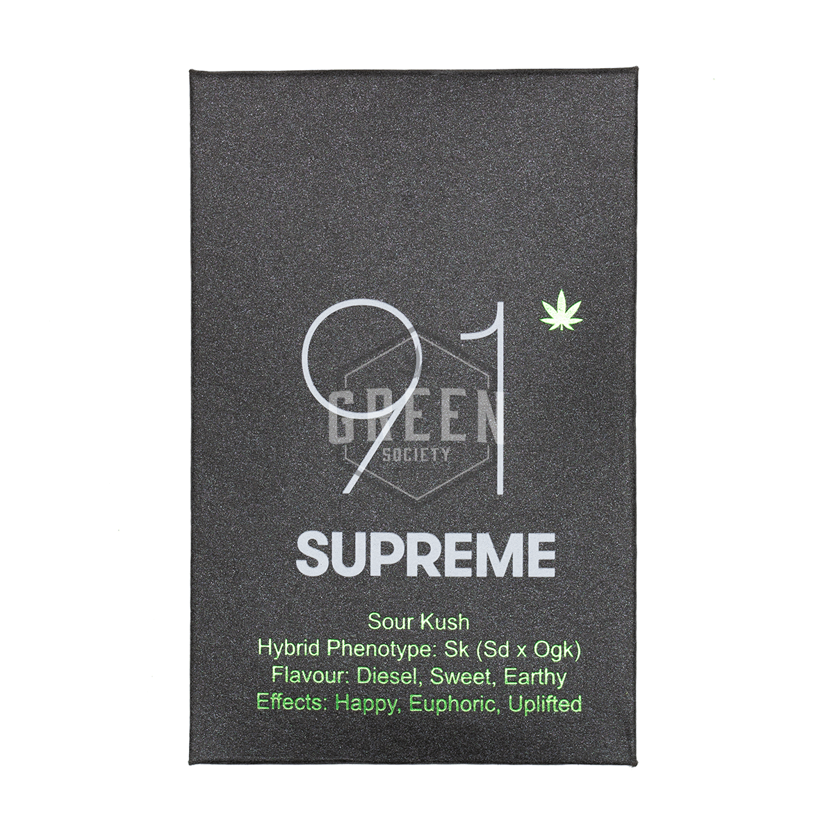 Sour Kush Shatter by 91 Supreme by Green Society - Image © 2018 Green Society. All Rights Reserved.